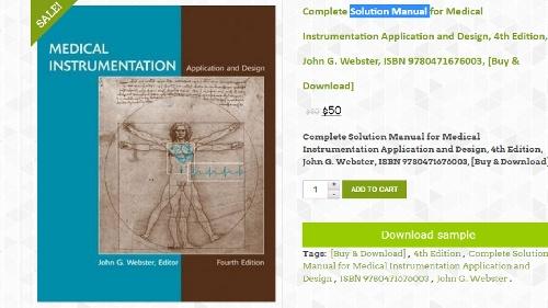 webster medical instrumentation solution manual rh webster medical instrumentation solution manu Medical Training Manuals Manual Medical Traiing